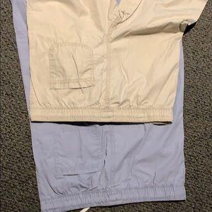 OshKosh B'gosh Bottoms - 2 pairs Oshkosh bgosh boys cargo pants size 12 new